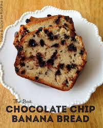 the best chocolate chip banana bread sugar e by