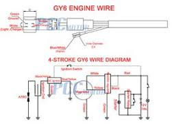 Who want quality scooter parts that last much longer and save costly time on repairs compared to the aftermarket chinese scooter parts. 50cc 150cc Moped Gy6 Wire Diagram