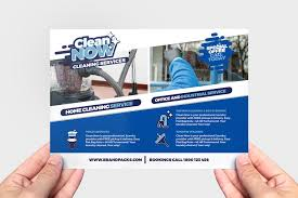 Home Flyers Template Cleaning Flyersmplates Examples Company Flyer Free House