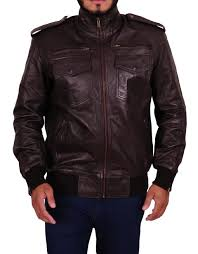 brooklyn nine nine jake peralta leather jacket 6
