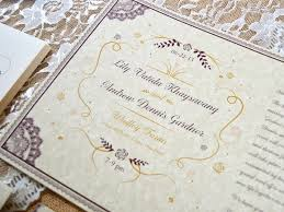 Wedding Invitation Folding Twelve30 Creative Victorian Wedding Invitation