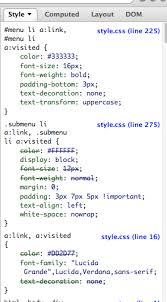 cascade style sheet html css cascading order within one stylesheet stack overflow