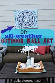 Delighful Diy Patio Decorating Ideas All Weather Outdoor Wall With