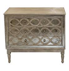 distressed antique furniture. Ogee French Country Distressed Antique Mirror Dresser Chest | Kathy Kuo Home Furniture