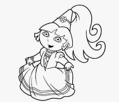 Coloring Pages Dora The Explorer Coloring Pages Online Papidora