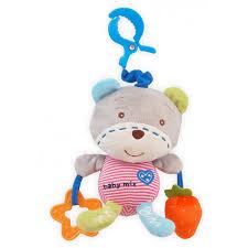 """Купить <b>подвес Baby Mix</b> Игрушка мягкая с подвеской """"Мишка ..."""
