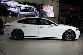 2018 lexus 500 f sport. Simple Sport 2018 Lexus LS 500 F Sport New York Auto Show Featured Image Large Thumb2 To Lexus F Sport