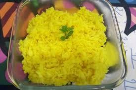 Resultado de imagem para arroz com açafrão