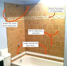 cost to tile a bathroom wall shower walls of re tiling marble tiles average cos
