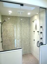 shower accent wall shower accent wall shower mosaic glass tile shower accent wall bathroom shower tile