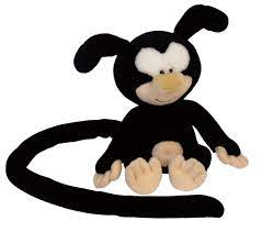 Marsu – c683 – 001 – Marsupilami Plush – Black Fur – Baby 25 cm: Amazon.de:  Baby