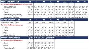 Jerzees T Shirt Size Chart 88181 Core365 Mens Performance Pique Knit Polos