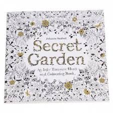 set of 5 secret garden an inky treasure hunt and coloring book english 24 pages malaysia