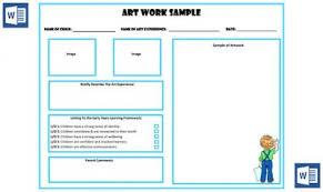art portfolio template art work sample portfolio template now available in ms word aussie