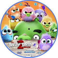 The Angry Birds Movie 2 (2019) R2 Custom DVD Label - DVDcover.Com
