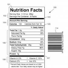 kellogg s vector cereal nutrition stock photo nutrition facts label for kelloggs froot loops cereal