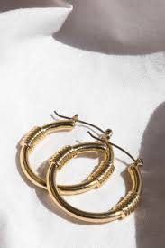 minc collections dakota hoops gold