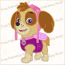 Free Applique Embroidery Designs To Download Bogo Free Paw Patrol Skye Applique Embroidery Design