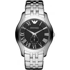 ar1706 emporio armani mens classic silver steel bracelet watch emporio armani ar1706 mens classic silver steel bracelet watch
