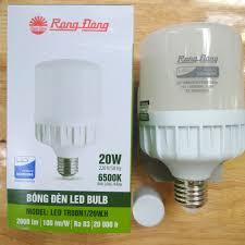 Bóng đèn led RĐ 20w - Led trụ RĐ 20w tiết kiệm điện .