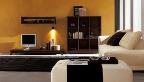 modern ethnic living room small tv. Modern Ethnic Living Room With Comfortable Beige Sofa Wooden Storage Blakc Rug And Small Table For TV Image Tv O