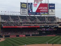 Target Field Seating Chart With Seat Numbers Beautiful Tar