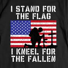 Image result for PICTURE OF TAKE A KNEE IN HONOR OF FALLEN VETERANS