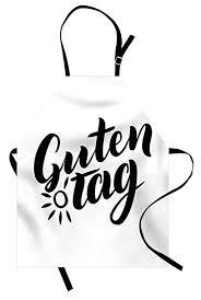 Amazon ドイツエプロン 調節可能 ビブキッチン 料理エプロン 女性用