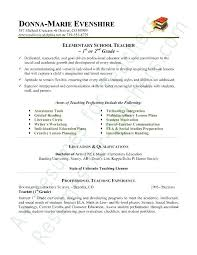 Resume For Teachers Examples Impressive Teacher Sample Resume Education Example In Progress Socialumco