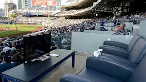 Petco Park Seating Chart Field Box 65 Expository Padres Stadium Seating View