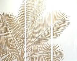 wall art leaves wall art ideas design themed decorations palm leaf brown home simple unique white wall art