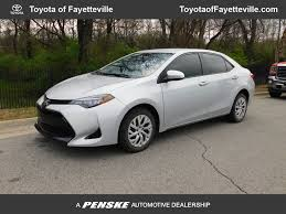 2017 Used Toyota Corolla LE at Honda of Fayetteville Serving ...