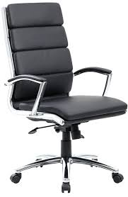 chrome office chairs. chrome office chairs lovable chair leather with boss modern base and black desk