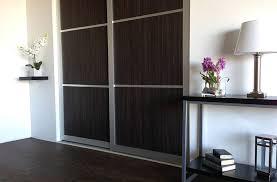 modern wood sliding closet doors