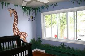 jungle themed nurseries ideas
