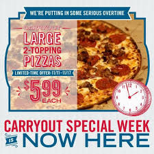 news domino s 5 99 carryout large 2 topping pizza deal