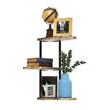 office corner shelf. Contemporary Corner LoveKANKEI Corner Shelf Wall Mount 3 Tier Rustic Wood Floating Shelves  Bedroom Living For Office