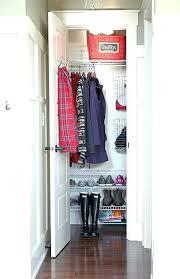 coat closet storage organized coat closet i like the wire shoe shelves top shelf basket wire coat closet storage coat closet shoe