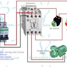how to wire contactor and overload relay contactor wiring Relay Contactor Wiring Diagram the complete guide of single phase motor wiring with circuit breaker and contactor diagram relay contactor wiring diagram
