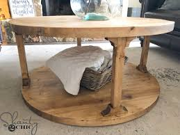 Magical, meaningful items you can't find anywhere else. Diy Round Coffee Table Shanty 2 Chic