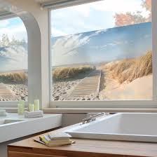 Fensterfolie Sichtschutz Fenster Ostsee Strand Fensterbilder
