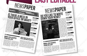 Free Indesign Newspaper Template Newspaper Template Psd Free Download Magdalene Project Org