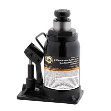 20-Ton Hydraulic In-Line Bottle Jack Omega Jack-10200 - The Home Depot
