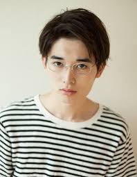 メンズメガネが似合うビジネスショート髪型ny 118 ヘアカタログ