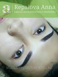 татуаж бровей перманентный макияж бровей