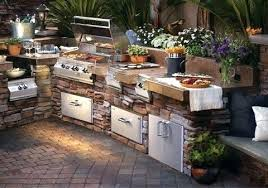 outdoor kitchens plans amazing kitchen designs make your neighbors jealous for small es ideas with big big green egg