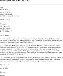 Cover Letter Format Cover Letter Social Work Social Work Objective