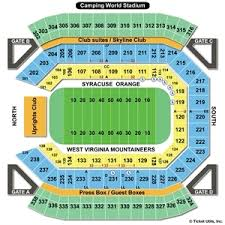 Logical Seating Chart For Florida Citrus Bowl Stadium