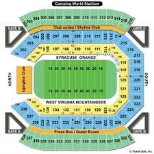 Seating Chart For Florida Citrus Bowl Stadium Florida Citrus
