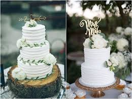 20 Greenery Wedding Cakes That Are Naturally Gorgeous Deer Pearl